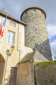 The tower of diamond in Charolles, Burgundy, France — Foto Stock