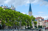 Basilica of Fourviere, Lyon, France — Stock Photo