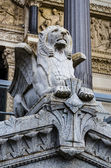 Statue, Basilica of Fourviere, Lyon, France — Stock Photo