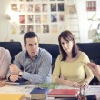 Architects in office — Stock Photo #52591945