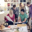 Architects in office — Stock Photo #52592417