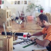 Arquitetos de escritório — Foto Stock