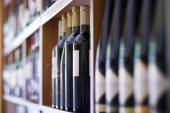 Wine bottles from cellar — Stock Photo