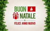 Buon Natale Greeting Card — Stock Photo