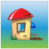 小房子 — 图库矢量图片