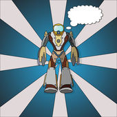 Vektör robot. — Stok Vektör