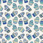 Winter seamless pattern — Stock Vector