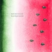 Watermelon background — Stock Vector