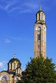 Pravoslavná církev v centar banja luka — Stock fotografie
