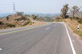 Roads in rural areas of developing countries — Zdjęcie stockowe