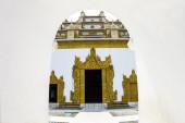 Wejście do świątyni — Zdjęcie stockowe