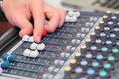 Hand on mixer — ストック写真
