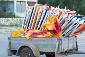 Old cart — Stock Photo