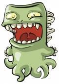 Cute cartoon monster — Stock Vector