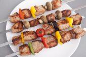 Shish kebab — Stock Photo