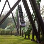 Roller coaster in Hellendoorn — Stock Photo #51933077