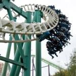 Roller coaster in Hellendoorn — Stock Photo #51933081