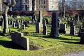 Old cemetery in Stockholm, Sweden — Stock Photo
