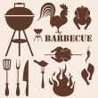 Barbecue Grill — Stock Vector #51950249
