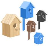 Birdhouse — Cтоковый вектор