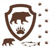 クマ — ストックベクタ