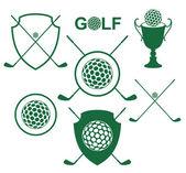Golf — Stock Vector