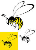 Bee. Set — Stockvektor