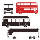 Bus. Set — Stock Vector
