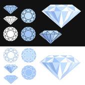 Diament — Wektor stockowy