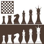 象棋 — 图库矢量图片