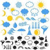 Weather — Stock Vector