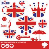 United Kingdom — Vector de stock
