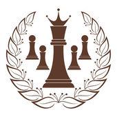 Schack — Stockvektor