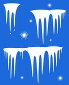 Icicle — Stock Vector