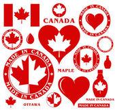 Canada — Wektor stockowy