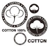 Cotton — Stock Vector