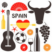 SpainSpain collection of labels — Stock Vector