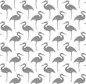 Seamless pattern with herons — Stock Vector