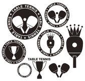 Table tennis — Vector de stock