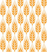 Barley pattern — Stock Vector
