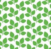 Soy leaves — Stockvector