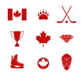 Canada icons — Stock Vector