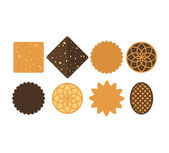 Cookie  Icon set — Stock Vector
