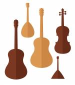 Musical Instrument icons — Stock Vector