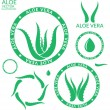 Aloe Vera icons — Stock Vector #68710921