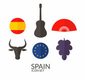 Spain Icon set — Stock Vector