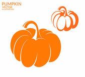 Pumpkin icon set — Stock Vector