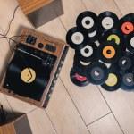 Vinyl store — Stock Photo #71639015