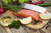 Salmon — Fotografia Stock