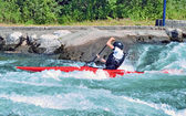 Kayaking C — Stock Photo